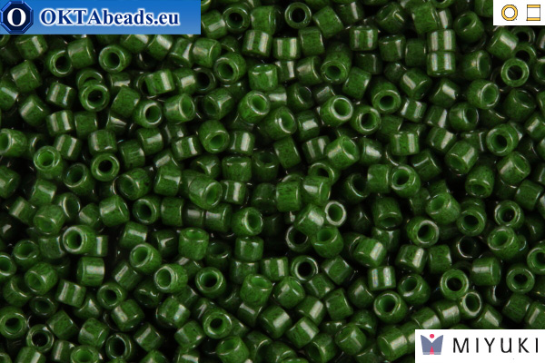 MIYUKI Beads Delica Opaque Forest Green 11/0 (DB663)