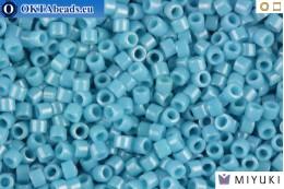 MIYUKI Beads Delica Opaque Light Blue Luster 11/0 (DB218)