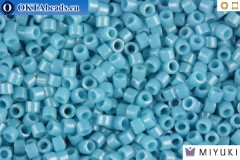 MIYUKI Beads Delica Opaque Light Blue Luster 11/0 (DB218)