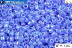 MIYUKI Beads Delica Opaque Light Sapphire AB (DB167) 11/0