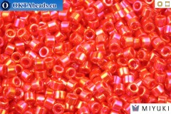 MIYUKI Beads Delica Opaque Light Siam AB (DB159) 11/0