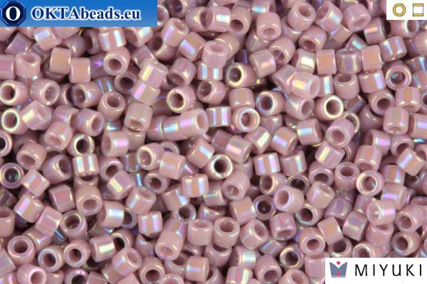 MIYUKI Beads Delica Opaque Lilac AB 11/0 (DB158) DB158