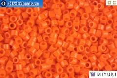 MIYUKI Beads Delica Opaque Orange 11/0 (DB722)