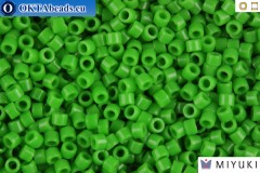 MIYUKI Beads Delica Opaque Pea Green 11/0 (DB724)