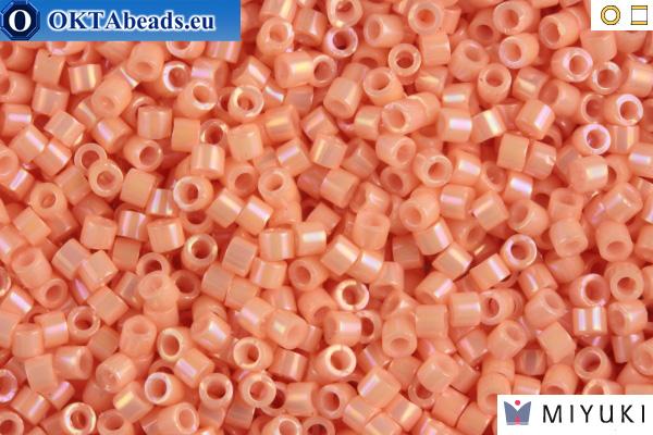 MIYUKI Beads Delica Opaque Peach Luster 11/0 (DB207)