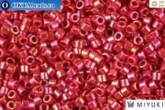 MIYUKI Beads Delica Opaque Red AB 11/0 (DB162)