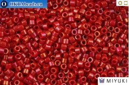 MIYUKI Beads Delica Opaque Red Luster 11/0 (DB214) DB214