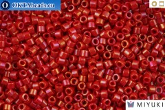 MIYUKI Beads Delica Opaque Red Luster 11/0 (DB214)