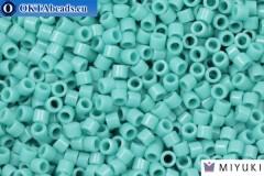 MIYUKI Beads Delica Opaque Turquoise Green (DBM729) 10/0, 5gr