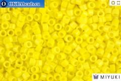 MIYUKI Beads Delica Opaque Yellow 11/0 (DB721)