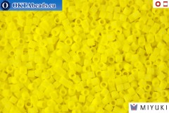 MIYUKI Beads Delica Opaque Yellow 15/0 (DBS721)