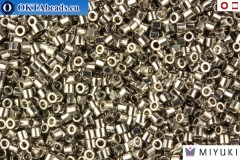 MIYUKI Beads Delica Palladium Plated 15/0 (DBS38)