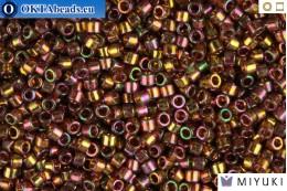 MIYUKI Beads Delica Pink Luster Light Olive 11/0 (DB126) DB126