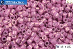 MIYUKI Beads Delica Pink Luster Opaque Mauve (DB253) 11/0