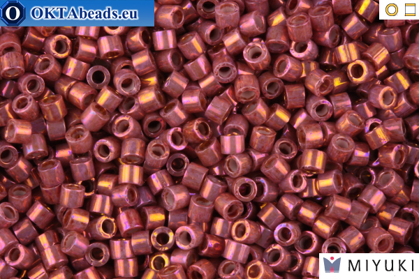 MIYUKI Beads Delica Rhubarb Gold Luster 11/0 (DB1016) DB1016
