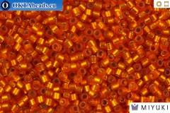 MIYUKI Beads Delica Semi Matte Silver Line Squash 11/0 (DB681)