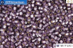 MIYUKI Beads Delica Semi Matte Silver Lined Violet 11/0 (DB695)
