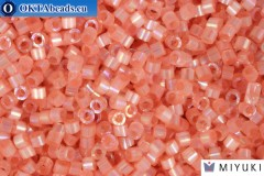 MIYUKI Beads Delica Silk Inside Dyed Cinnamon Ab (DB1863) 11/0, 5гр
