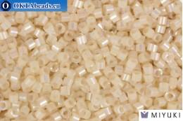 MIYUKI Beads Delica Silk Inside Dyed Pale Apricot Ab (DB1874) 11/0, 5гр DB1874
