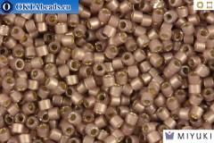 MIYUKI Beads Delica Silver Line Cinnamon Opal 11/0 (DB1460)