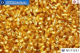 MIYUKI Beads Delica Silver Line Gold 15/0 (DBS42) DBS042