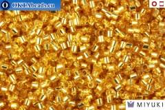 MIYUKI Beads Delica Silver Line Gold 15/0 (DBS42)