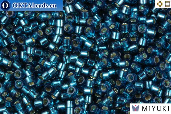 MIYUKI Beads Delica Silver Lined Blue Zircon 11/0 (DB608)