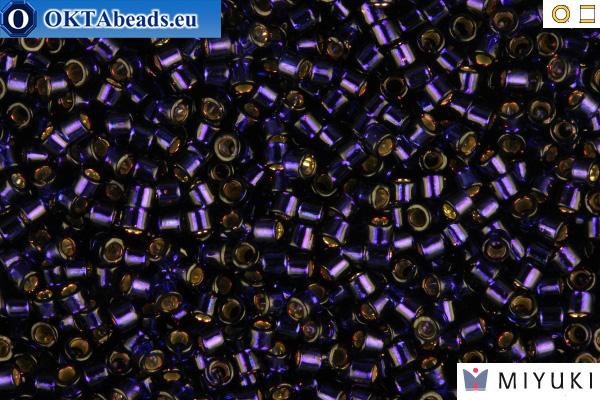 MIYUKI Beads Delica Silver Lined Dark Purple 11/0 (DB609)