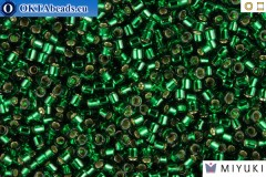 MIYUKI Beads Delica Silver Lined Green 11/0 (DB148)