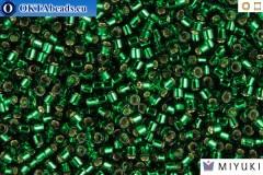 MIYUKI Beads Delica Silver Lined Green 11/0 (DB148)