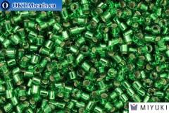 MIYUKI Beads Delica Silver Lined Light Green (DBM46) 10/0, 5гр