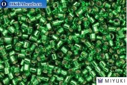 MIYUKI Beads Delica Silver Lined Light Green (DBM46) 10/0, 5gr DBM0046