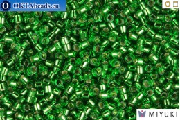 MIYUKI Beads Delica Silver Lined Light Green 11/0 (DB46) DB046