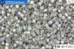 MIYUKI Beads Delica Silver Lined Light Smoke Opal 11/0 (DB1455)