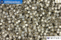 MIYUKI Beads Delica Silver Lined Light Taupe Alabaster 11/0 (DB630)