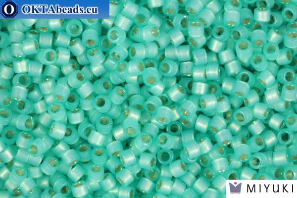 MIYUKI Beads Delica Silver Lined Mint Green Alabastr (DB627) 11/0, 5гр DB627