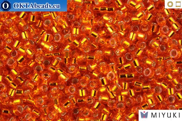 MIYUKI Beads Delica Silver Lined Orange 11/0 (DB45) DB045