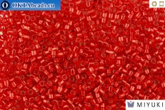 MIYUKI Beads Delica Silver Lined Red/Dyed 11/0 (DB602)