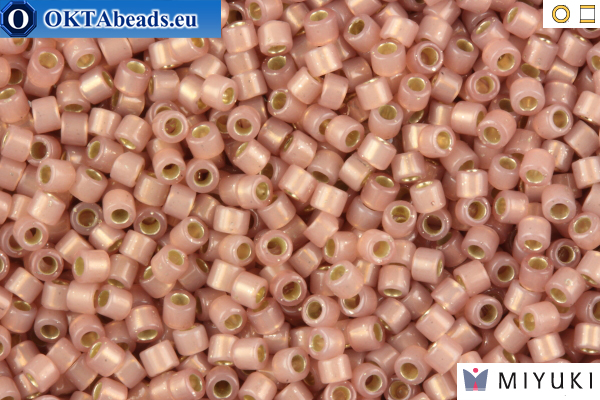 MIYUKI Beads Delica Silver Lined Shell Opal 11/0 (DB1459)