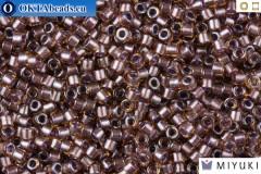 MIYUKI Beads Delica Sparkling Light Amethyst Lined Topaz 11/0 (DB912)