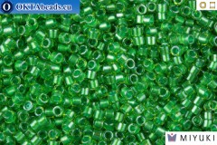 MIYUKI Beads Delica Sparkling Light Green Lined Chartreuse 11/0 (DB916)