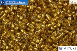 MIYUKI Beads Delica Sparkling Marigold Lined Chartreuse 11/0 (DB909)