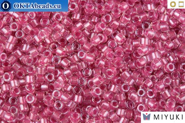 MIYUKI Beads Delica Sparkling Rose Lined Crystal 11/0 (DB902)