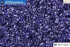 MIYUKI Beads Delica Sparkling Violet Lined Crystal 11/0 (DB923)