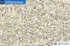 MIYUKI Beads Delica Sterling Silver Plate 11/0 (DB551)