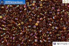 MIYUKI Beads Delica Transparent Amber AB 11/0 (DB170)