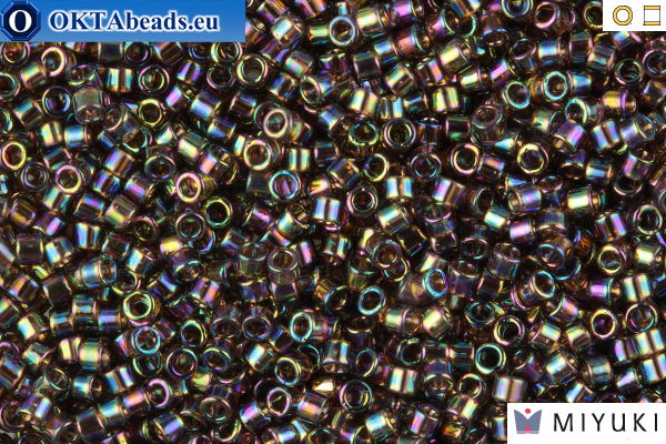 MIYUKI Beads Delica Transparent Bronze AB 11/0 (DB180)