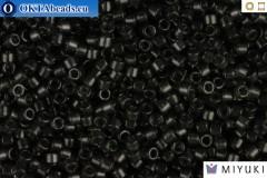 MIYUKI Beads Delica Transparent Dark Grey 11/0 (DB1319)