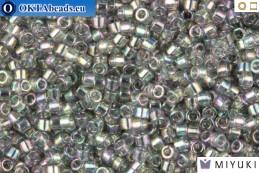 MIYUKI Beads Delica Transparent Grey Iris 11/0 (DB107) DB107