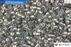 MIYUKI Beads Delica Transparent Grey Iris 11/0 (DB107)